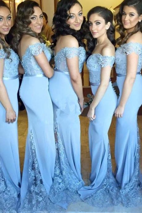 long mermaid bridesmaid dress,bridesmaid dress,bridesmaid dresses,simple bridesmaid dress