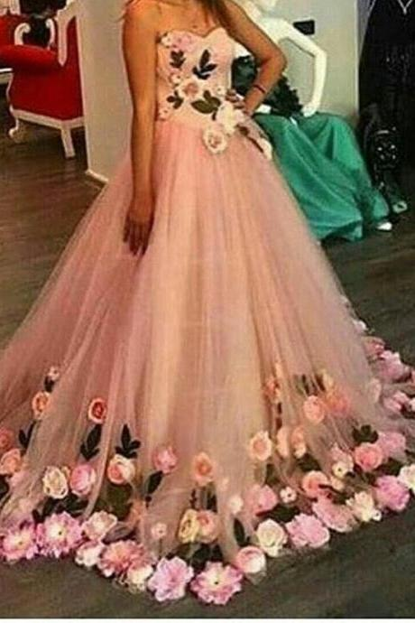 Cheap prom dresses 2017,Stunning Prom Dress pink prom gowns long evening gowns for teens