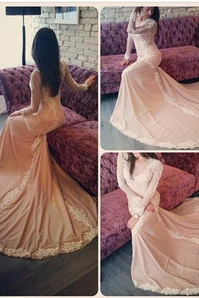 Cheap prom dresses 2017,Prom Dress,Long sleeve prom dress, lace prom dress, long evening dress, gorgeous prom dress, unique prom dress, Plus Size Evening Dress, Celebrity Dress,Elegant Evening Dress,Party Dress,Wedding Guest Prom Gowns, Formal Occasion Dresses,Formal Dress