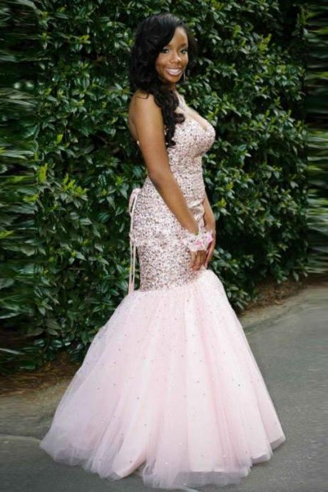 lace up prom dresses, Rhinestone prom dresses, Mermaid prom dresses, prom dresses 2017,Cheap prom dresses 2017,