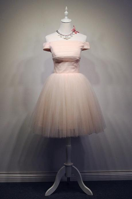 Charming Homecoming Dress,Tulle Homecoming Dress,
