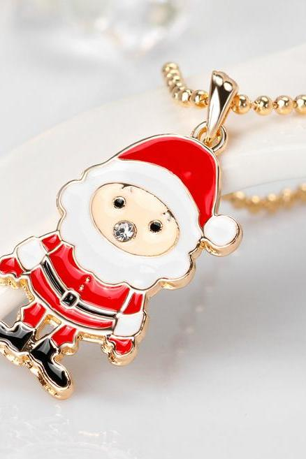 Christmas Gift Cheap Cute Christmas Necklace