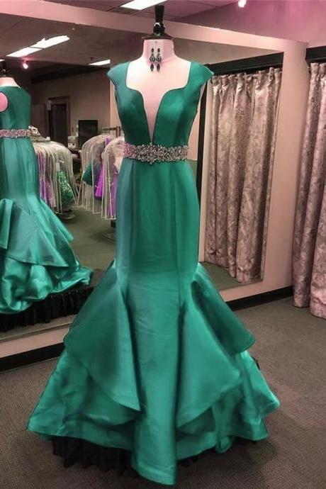 Charming Evening Dress,Mermaid Evening Dresses,Formal Evening Gowns