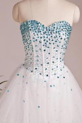 Custom Made Sweetheart Neck Short Prom Dresses, Short Dresses for Prom