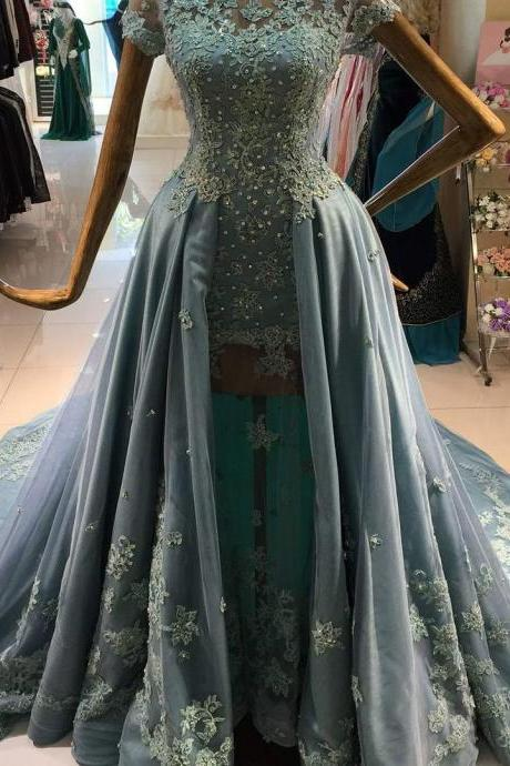 Prom Dresses,Evening Dress,New Arrival Prom Dress,Modest Prom Dress,long sleeves prom dresses,black prom dress,black evening gowns,two piece prom dresses,prom gowns 2017