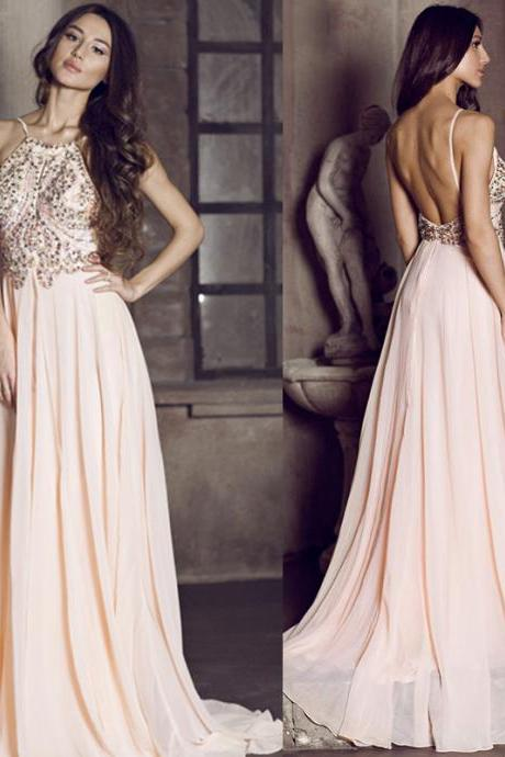 Sexy Prom Dresses,Spaghetti Straps Evening Dresses,New Fashion Prom Gowns,Elegant Prom Dress,Princess Prom Dresses,Chiffon Evening Gowns,Formal Dress,Grey Evening Gown