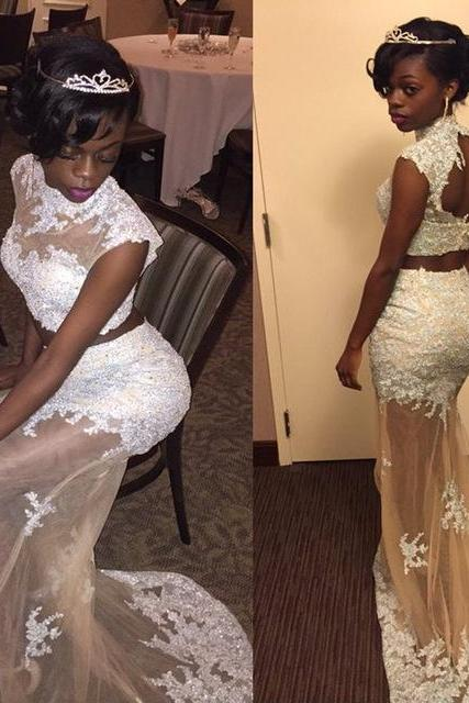 Prom Dress,Prom Gown,Lace Prom Dress,Prom Dress Mermaid,Two Piece Prom Dress,Affordable Prom Dress,Formal Dress,Evening Dress,Custom Plus size