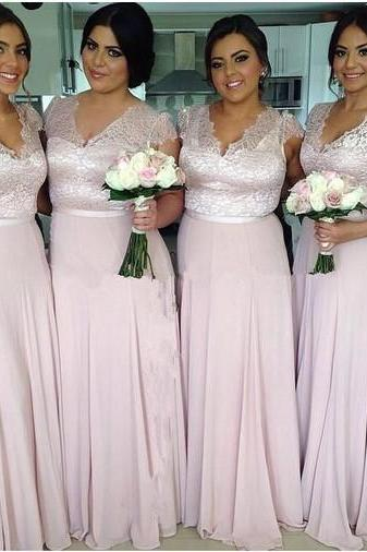 Lace Bridesmaid Dresses,2017 Bridesmaid Dresses, Mismatched Bridesmaid Dresses, Cheap Bridesmaid Dresses, Long Bridesmaid Dresses,