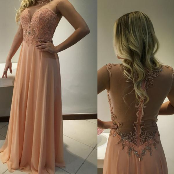 Prom Dresses,Evening Dress,Charming Prom Dress,Chiffon Prom Dress,A-Line Prom Dress,Beading Evening Dress